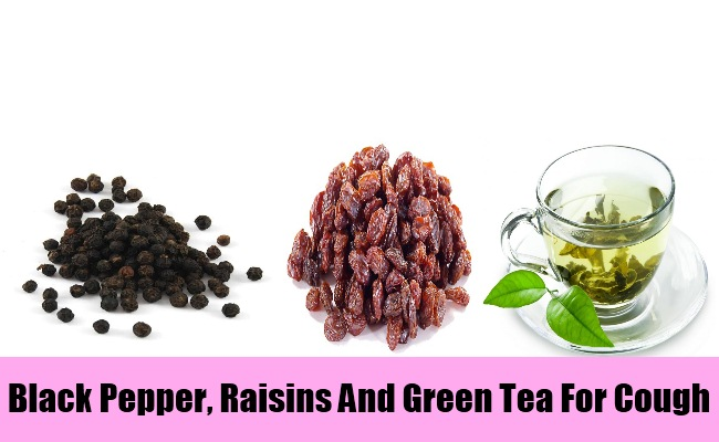 Black Pepper, Raisins And Green Tea