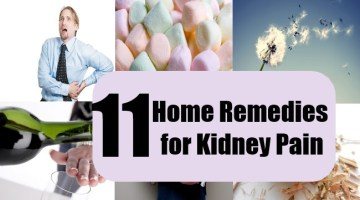 Top 11 Home Remedies for Kidney Pain