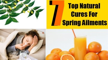 Top Natural Cures For Spring Ailments