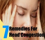 7 Remedies For Head Congestion