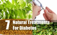 7 Natural Treatments For Diabetes
