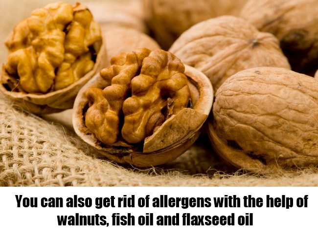 11 simple and easy treatments for allergies naturally for Allergic reaction to fish oil