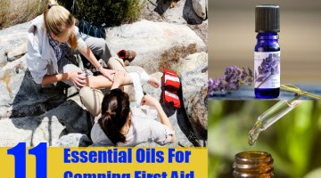 Essential Oils For Camping First Aid