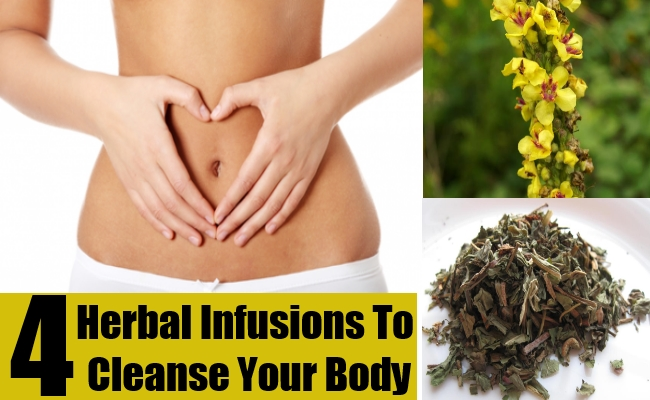 Herbal Infusions To Cleanse Your Body