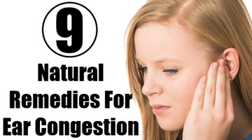 Natural Remedies For Ear Congestion
