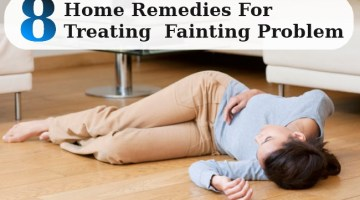 Home Remedies For Treating  Fainting Problem