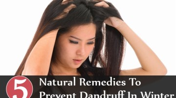Natural Remedies To Prevent Dandruff In Winter