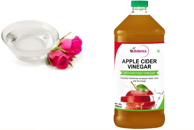 Apple Cider Vinegar And Rose Water