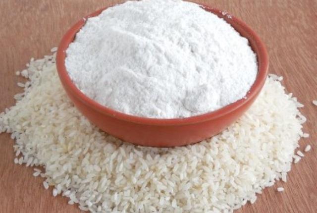 Rice Flour And Turmeric Mask