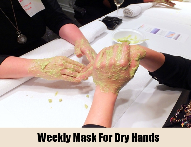 Weekly Mask For Dry Hands