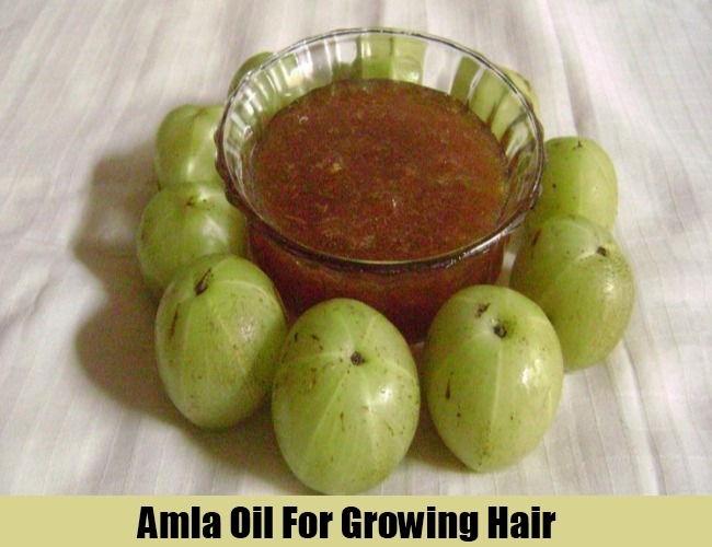 Amla Oil For Growing Hair