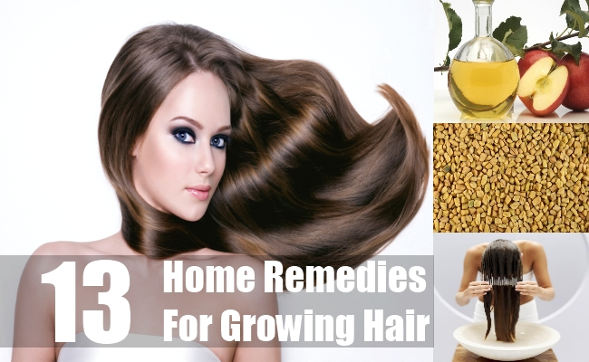 Home Remedies For Growing Hair