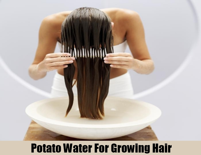 Potato Water For Growing Hair
