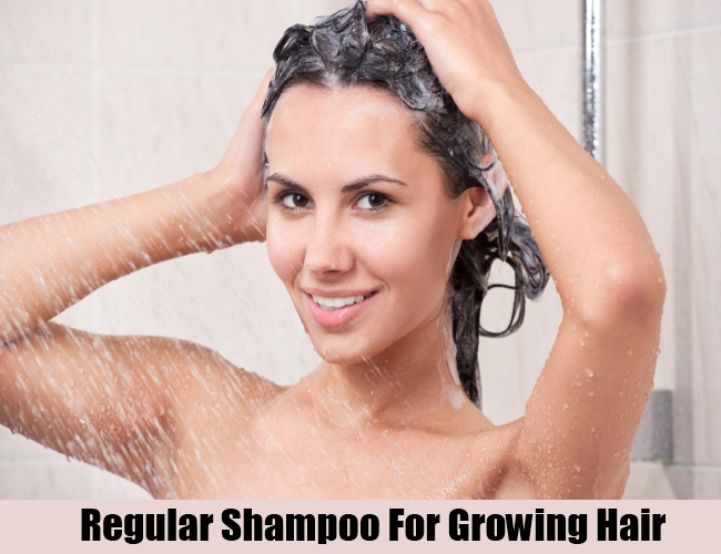 Regular Shampoo For Growing Hair