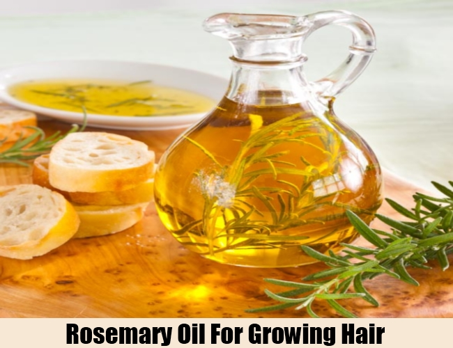 Rosemary Oil For Growing Hair
