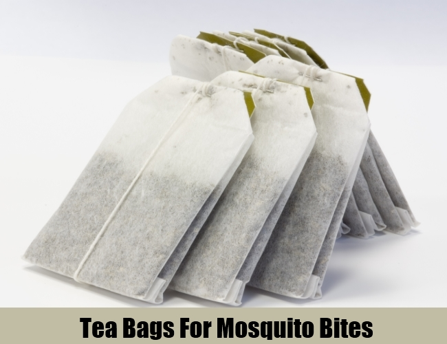 Tea Bag For Mosquito Bites