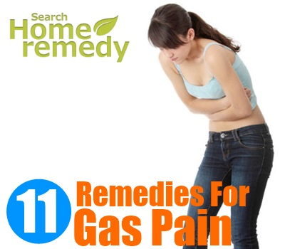11 Home Remedies For Gas Pain