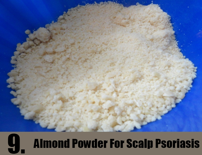 Almond Powder For Scalp Psoriasis