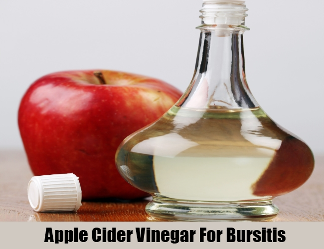 Apple Cider Vinegar For Bursitis