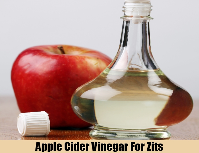 Apple Cider Vinegar For Zits