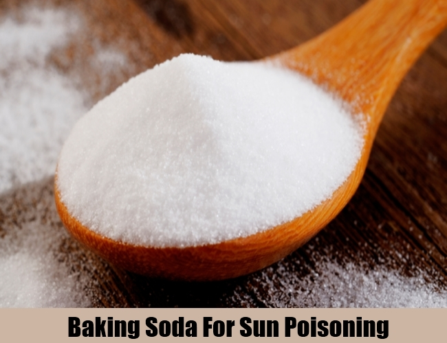Baking Soda For Sun Poisoning