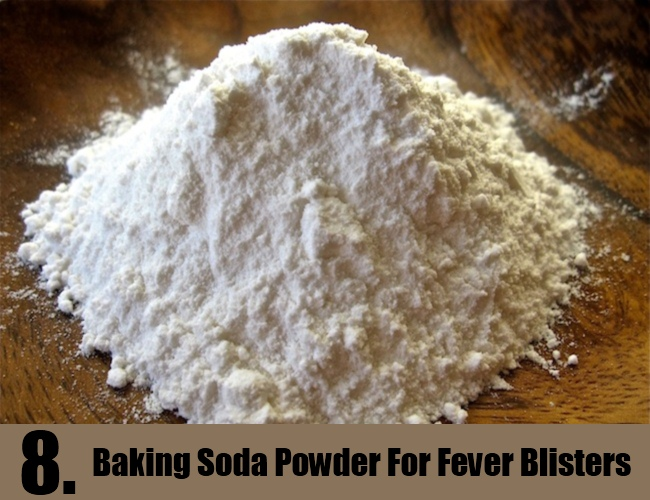 Baking Soda Powder For Fever Blisters