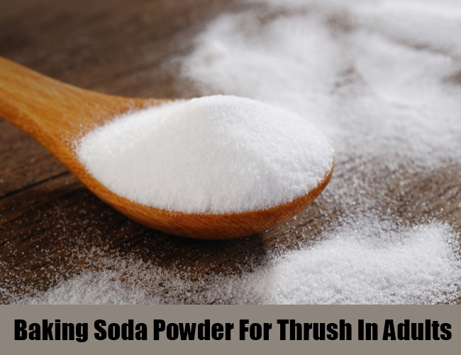 Baking Soda Powder For Thrush In Adults