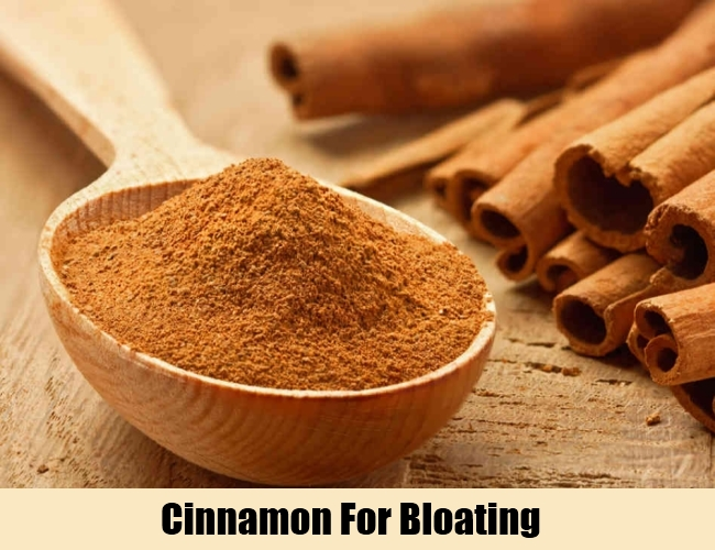 Cinnamon For Bloating