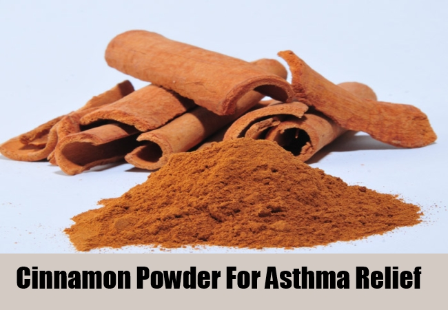 Cinnamon Powder For Asthma Relief