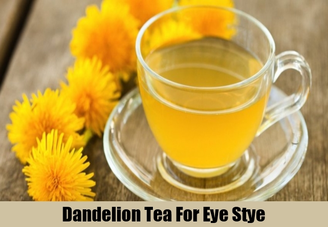 Dandelion Tea For Eye Stye