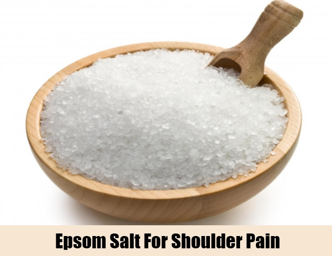 Epsom Salt For Shoulder Pain
