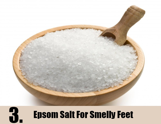 Epsom Salt For Smelly Feet