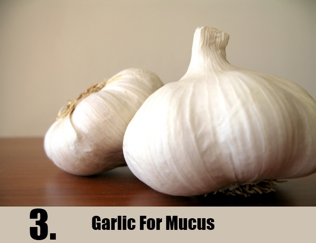 Garlic For Mucus