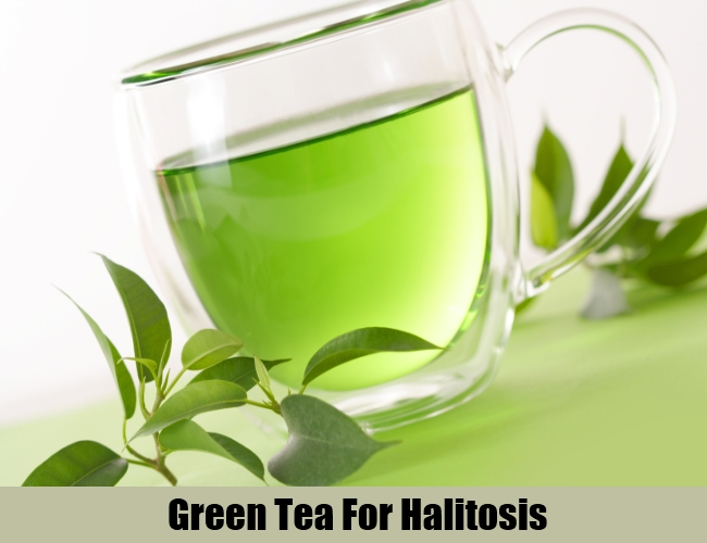 Green Tea For Halitosis