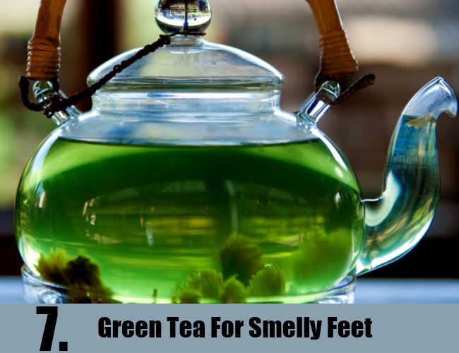 Green Tea For Smelly Feet