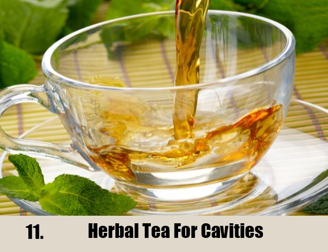 Herbal Tea For Cavities