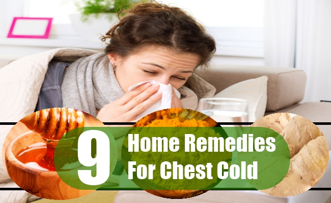 Home Remedies For Chest Cold