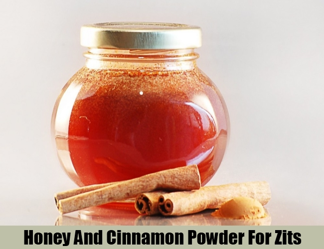 Honey And Cinnamon Powder For Zits