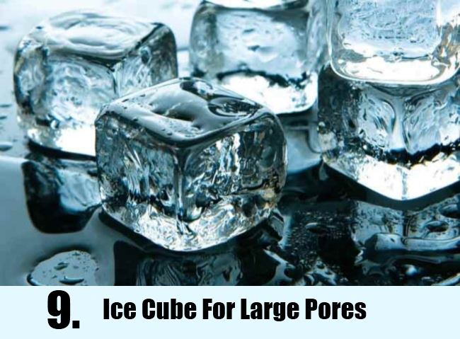 Ice Cube For Large Pores