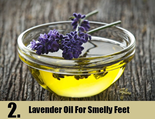 Lavender Oil For Smelly Feet
