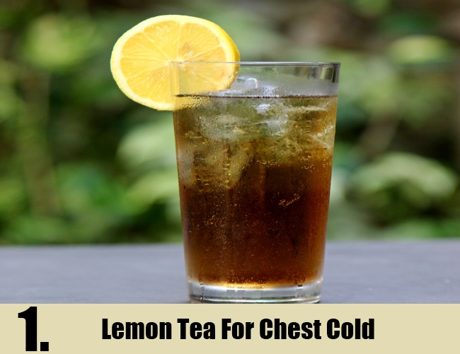 Lemon Tea For Chest Cold