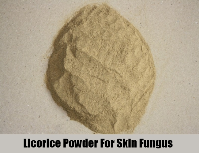 Licorice Powder For Skin Fungus