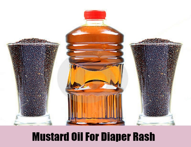 Mustard Oil For Diaper Rash