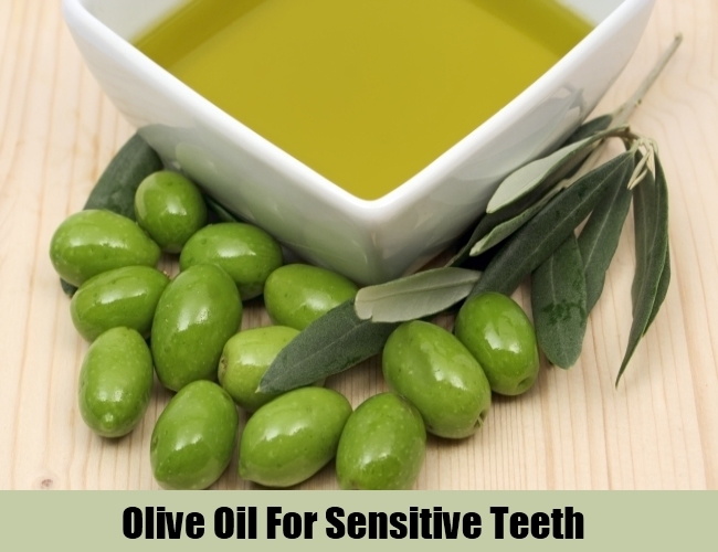 Olive Oil For Sensitive Teeth