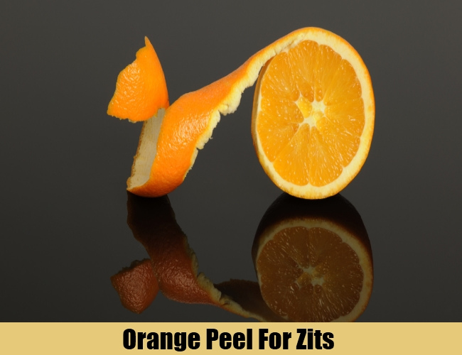 Orange Peel For Zits