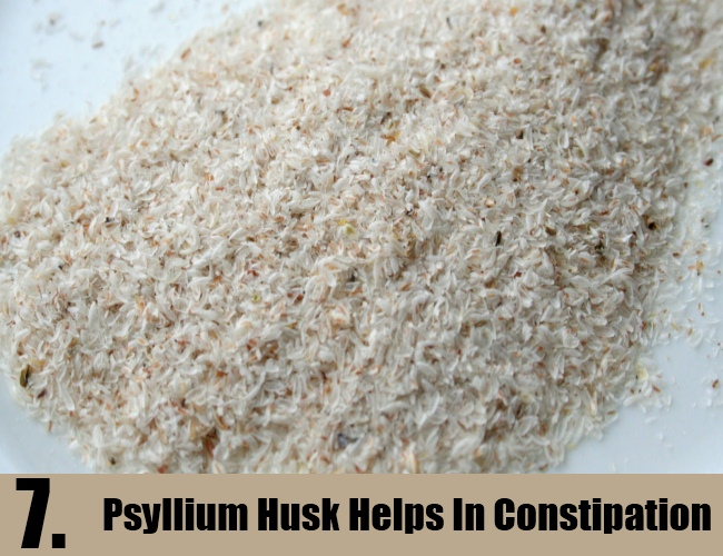 Psyllium Husk Helps In Constipation