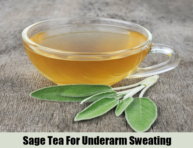 Sage Tea For Underarm Sweating