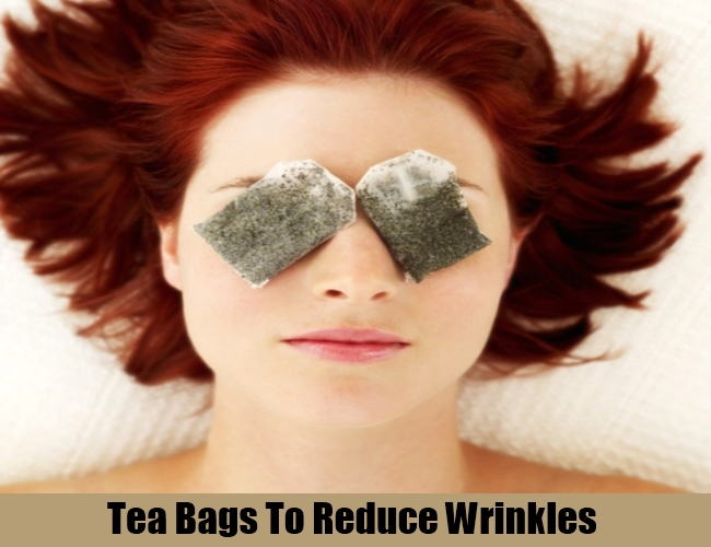 Tea Bags To Reduce Wrinkles
