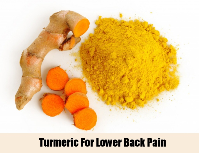 Turmeric for Lower Back Pain