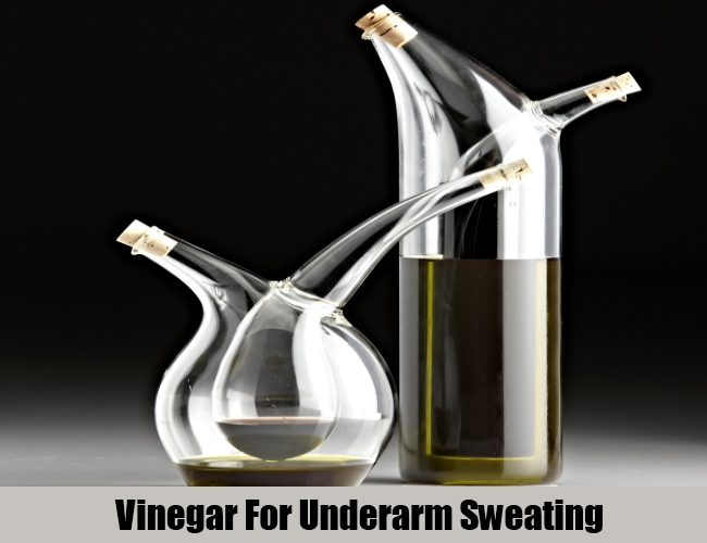 Vinegar For Underarm Sweating
